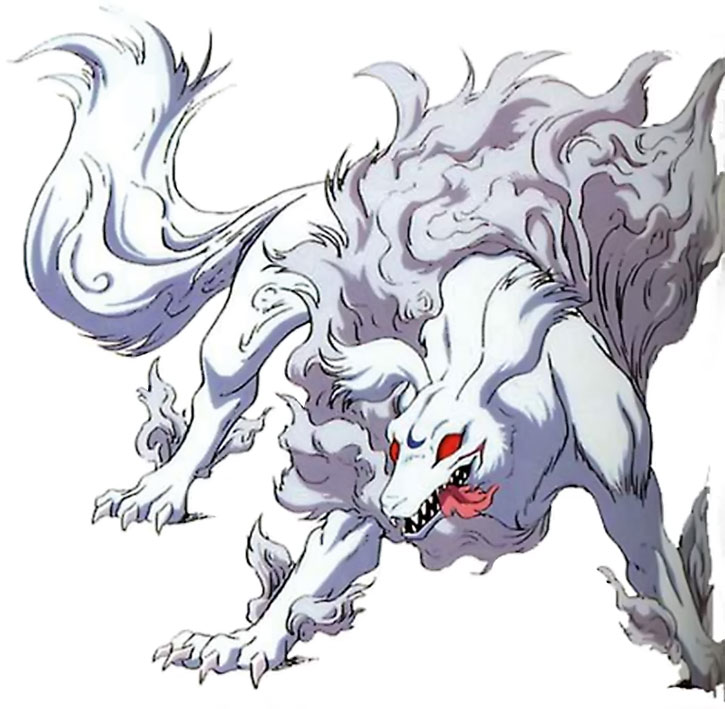 Sesshomaru in animal form