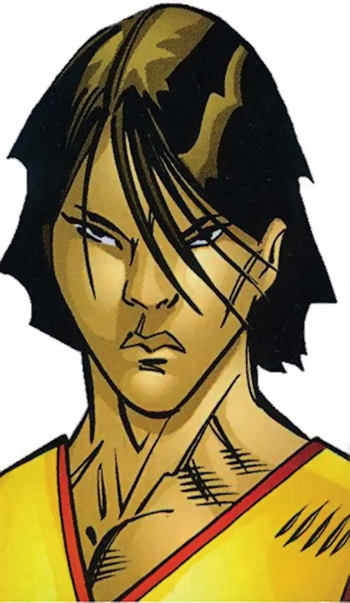 7 Deadly Brothers of the Great 10 (DC Comics) face closeup