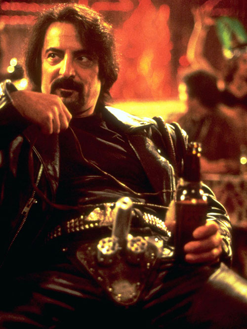 Sex Machine (Tom Savini in From Dusk Till Dawn) with his cock gun