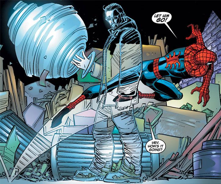 Shade ignoring Spider-Man