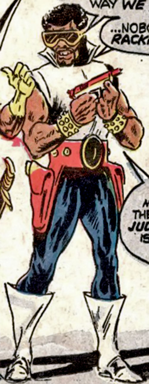 Shades (Luke Cage enemy) (Marvel Comics) in costume
