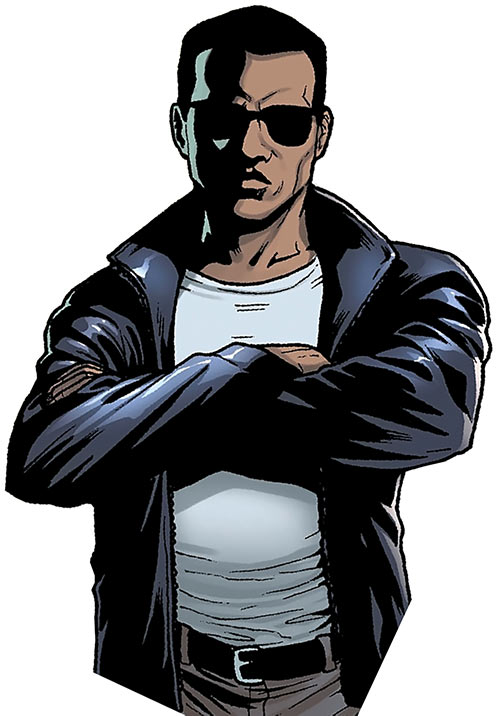 Shades (Luke Cage enemy) (Marvel Comics) as a Harlem rival