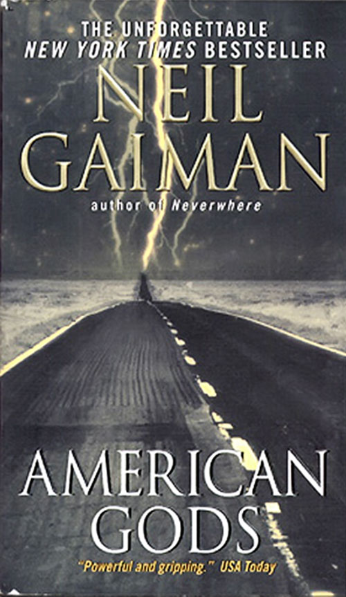 American Gods by Neil Gaiman (novel cover)
