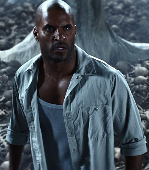 Ricky Whittle as Shadow Moon in the adaptation of Neil Gaiman's American Gods