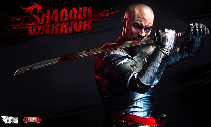 Lo Wang - Shadow Warrior 2013 video game reboot - Cover