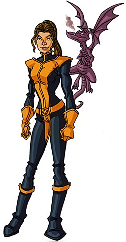 Shadowcat of the X-Men (Kitty Pryde) (Marvel Comics) by RonnieThunderbolts