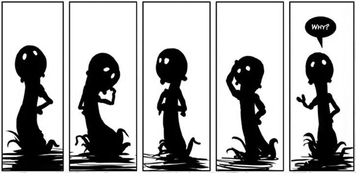 Shadowchild ponders life