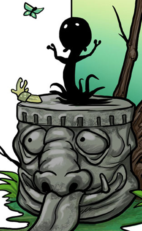 Shadowchild (Digger comics by Ursula Vernom)
