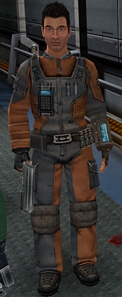 Shadowgrounds video game - Tyler uniform
