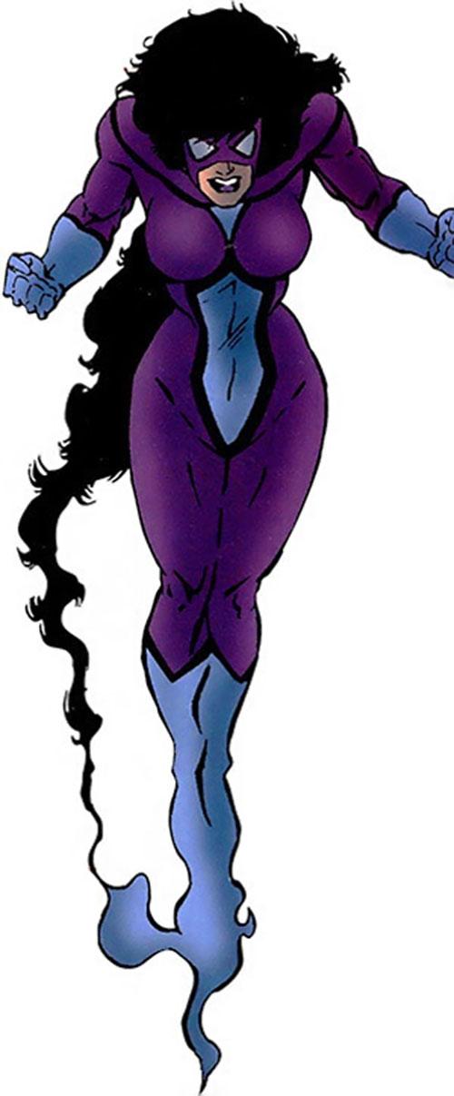 Shadowoman of the Secret Defenders (Marvel Comics)
