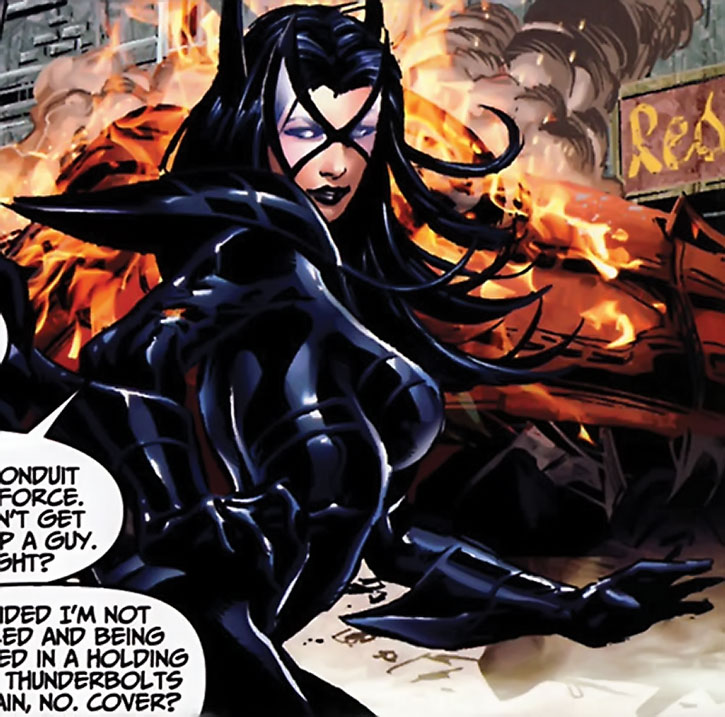 Sepulchre during her Thunderbolts appearance