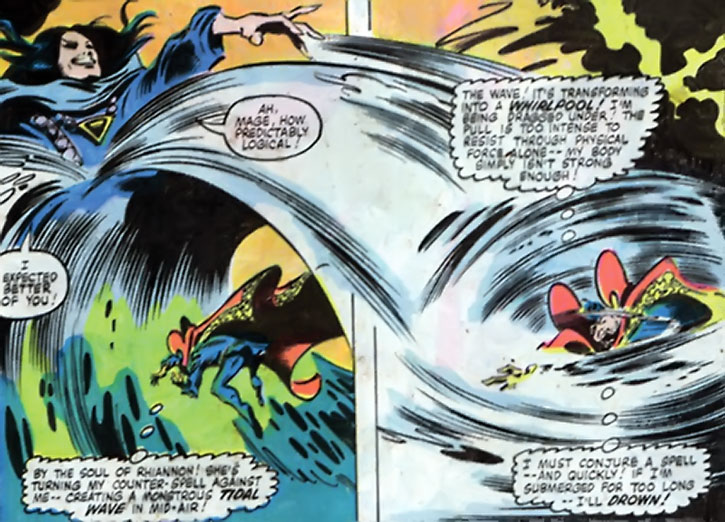 The Shadowqueen vs. Doctor Strange