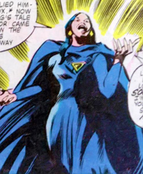 Shadowqueen (Doctor Strange enemy) (Marvel Comics) by Colan