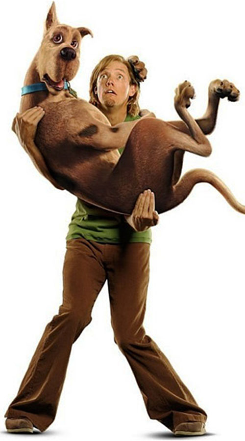 Shaggy and Scooby Doo (movie CGI version)