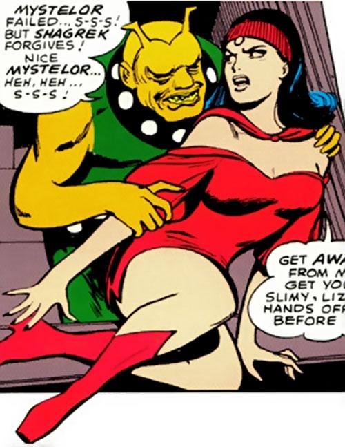 Shagrek of the Taurus Gang (Legion of Super-Heroes enemy) (DC Comics) and Mystelor