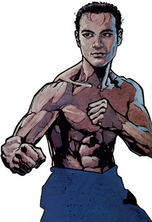 Shang-Chi the Master of Kung Fu (Marvel Comics) during the 2000s