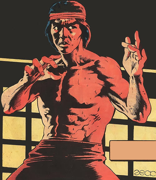Shang Chi - old Marvel Comics advert by Zeck