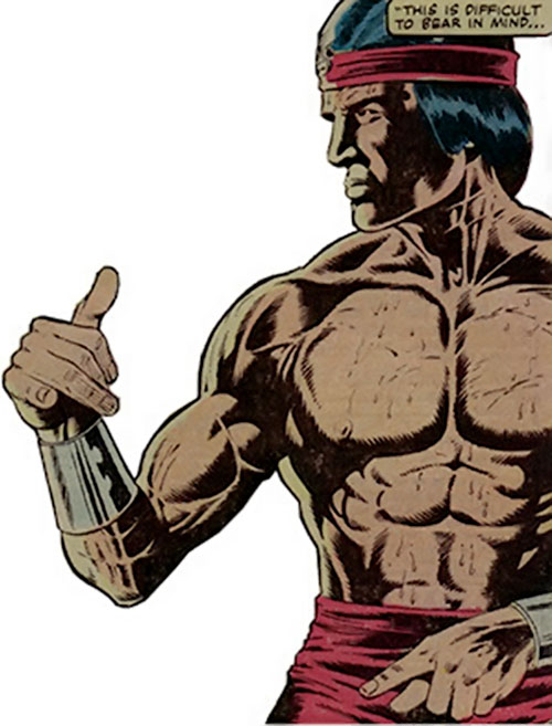 Shang-Chi the Master of Kung Fu (Marvel Comics) iconic
