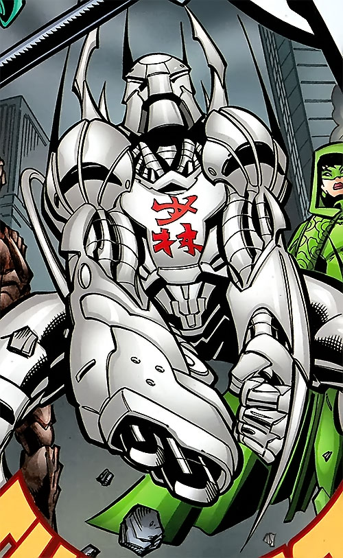 Shaolin Robot of the Great 10 (DC Comics) ready for battle