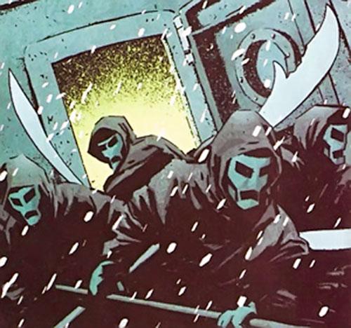 Shaolin Terror Priests (Iron Fist Marvel Comics)