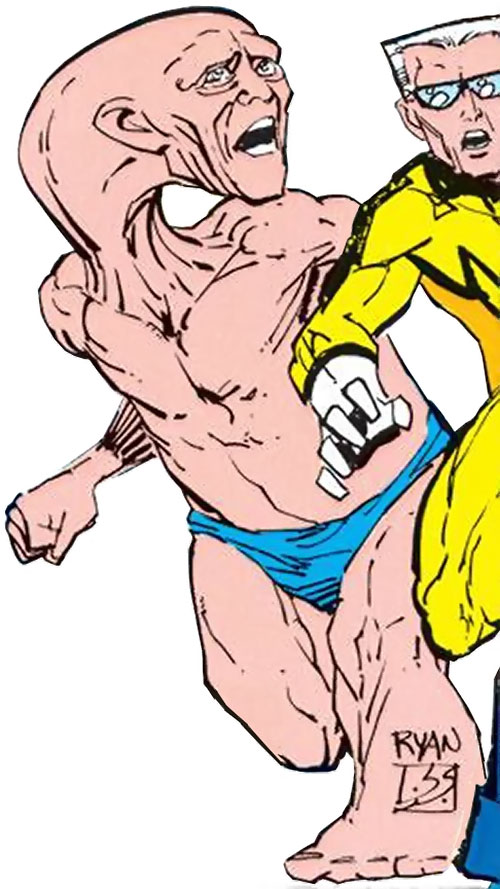 Shaped and Whizzer of the Squadron Supreme (Marvel Comics)