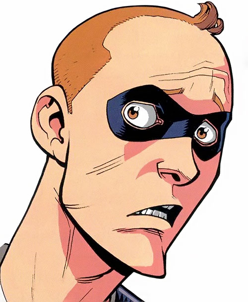 Shapesmith of the Guardians of the Globe (Image Comics Invincible) - face closeup