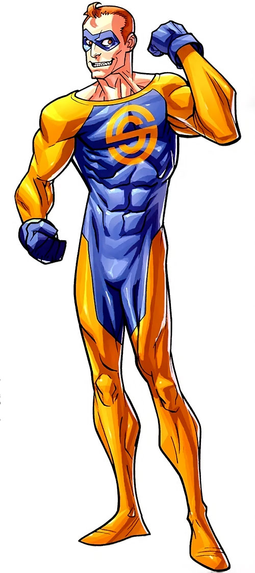 Shapesmith of the Guardians of the Globe (Image Comics Invincible)