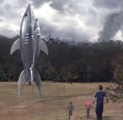 Shark Rocket (Sharkboy and Lavagirl)