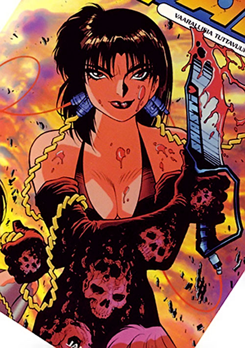 Shasti (Dirty Pair enemy)