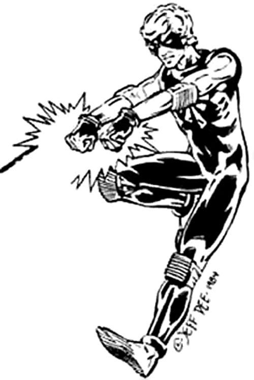 Shatterman (Villains & Vigilantes RPG)