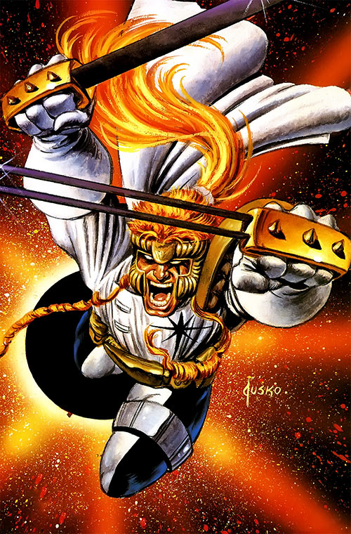 Shatterstar of X-Force (Marvel Comics) by Jusko