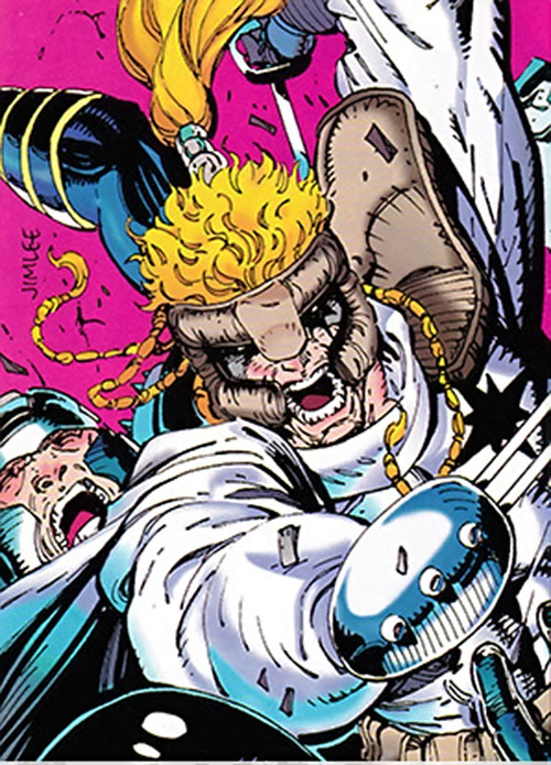 Shatterstar of X-Force (Marvel Comics) by Jim Lee
