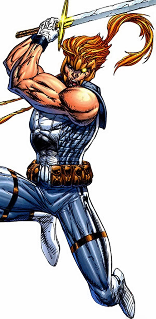 Shatterstar of X-Force (Marvel Comics) by Liefeld