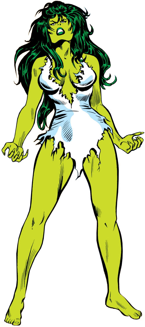 She-Hulk (Marvel Comics) (Early) Mike Vosburg art