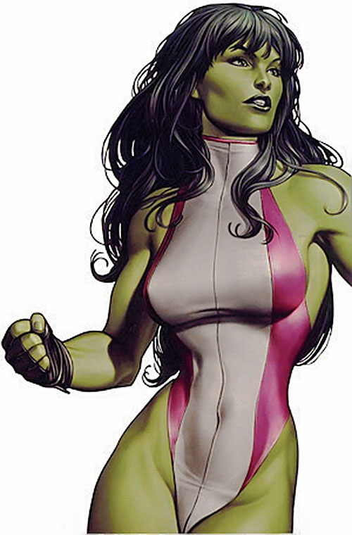 She-Hulk (Marvel Comics) photo realistic art