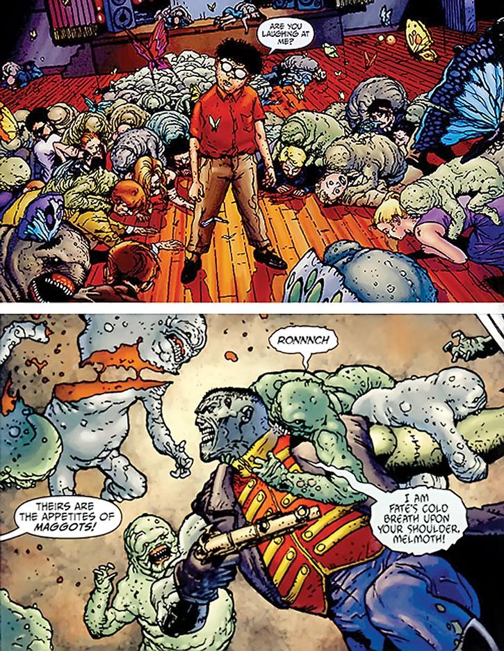 Sheeda maggots vs. Frankenstein