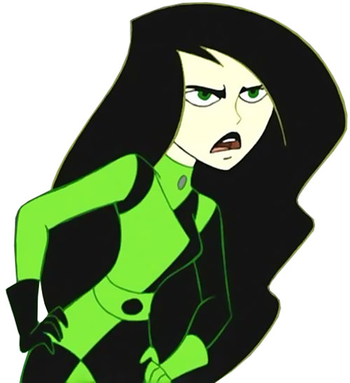 Shego (Kim Possible character) arguing