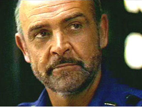 Sheriff O'Neil (Sean Connery in Outland) face closeup
