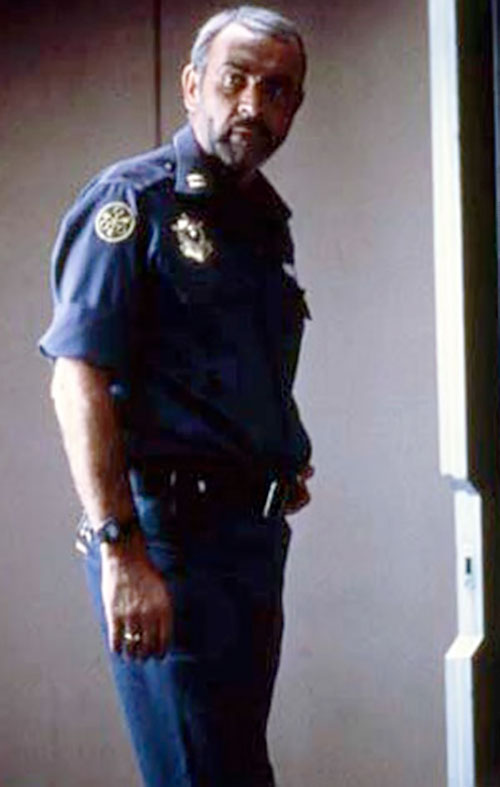 Sheriff O'Neil (Sean Connery in Outland) in uniform