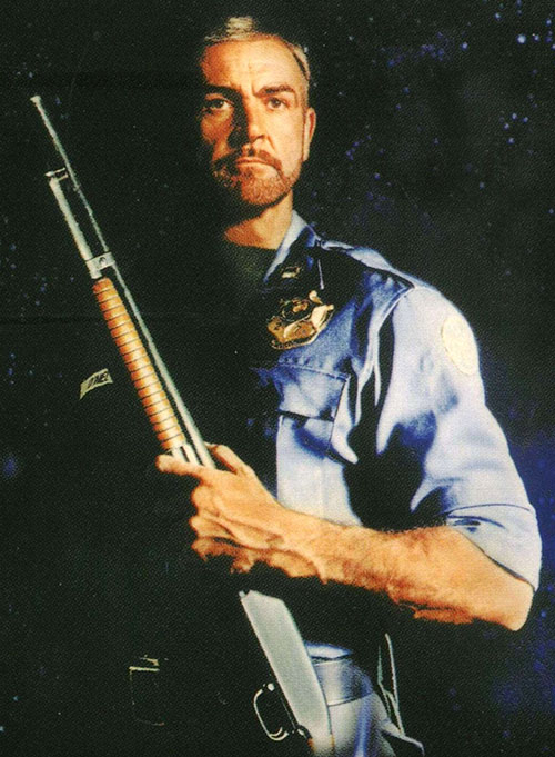 Sheriff O'Neil (Sean Connery in Outland)