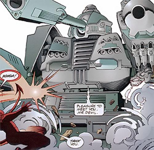 Sherman of Strikeback! (Malibu and Image comics)