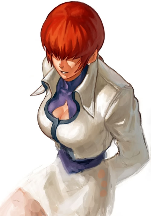Shermie from King of Fighters video games