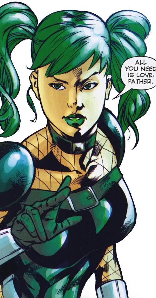 Shiny Happy Aquazon of the Super-Young Team (DC Comics) Japan
