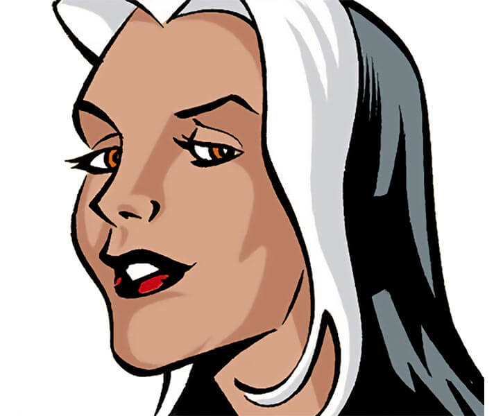 Shiv (Star-Spangled Kid enemy) (DC Comics) Cindy Burman closeup