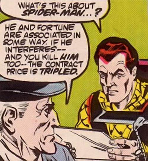 The Shocker (Spider-Man enemy) (Marvel Comics) unmasked face