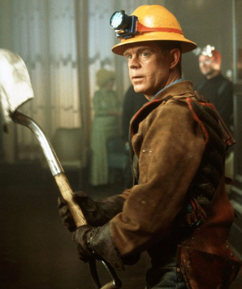 Shoveler (William Macy in Mystery Men)