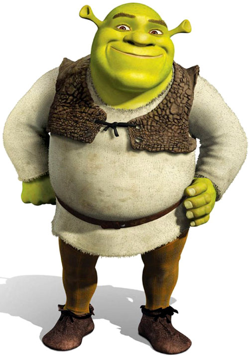 Shrek (Dreawworks movie ogre)