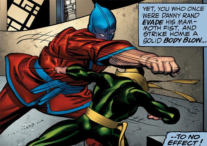 Shu Hu vs. Iron Fist