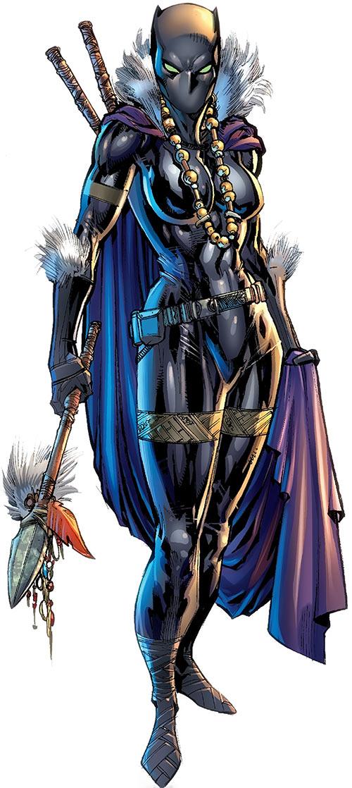 Black Panther (Shuri) (Marvel Comics) (Female)