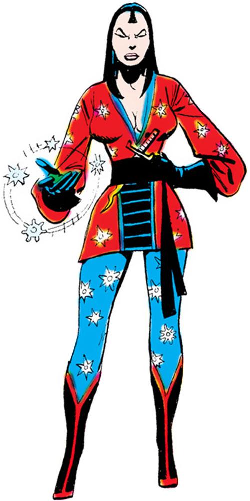 Shuriken (Batman & the Outsiders enemy) (DC Comics)